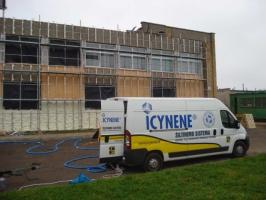 Утеплення будівель екологічно чистою термопіною  «ICYNENE»