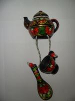 Оберег «Половинка чая » петриковская роспись