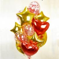 Гелиевые шары с конфетти № 4