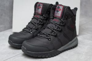Зимние ботинки Columbia Waterproof, черные (30171),  [  42 46  ]