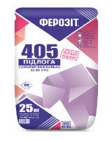 Ферозііт 405 самовирівнювальна підлога для теплих підло