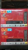 Эфирный цифровой FTA приемник стандарта DVB-T/T2 UCLan T2 HD с функцией записи