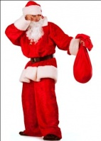 Карнавальный костюм мужской «Санта-Клаус», продажа карнавальных костюмов