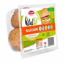 Безглютеновая булочка VitalFit белая Superfoods с семенами (веганская)