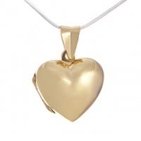 Серебряный медальон с золотым покрытием