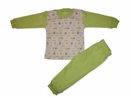 Пижама MiE, три цвета: салатовая, розовая, желтая