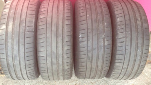 245/45ZR18 Michelin Pilot Sport PS4 Авто шина Летняя БУ, 4 ШТ. 4мм