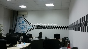 Роспись стен для компании SIGMA