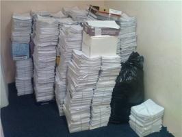 Вывоз офисной бумаги (макулатуры) в Киеве и Киевской области