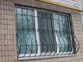 Решетка металлическая из квадрата 12мм
