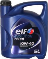 10W40 5L Моторное масло ELF EVOLUTION 700 STI 10W-40, Масло ДВС полусинтетическое 194865