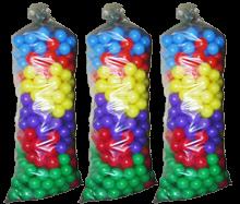 Шарики для сухого бассейна мягкие 80 мм, 900 шаров