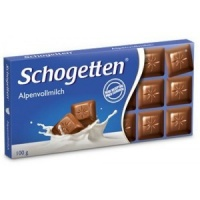 Schogetten молочный шоколад 100 грамм