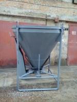 Бункер,емкость,бадья для бетона, раствора 1м3