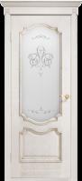 Двери межкомнатные ПРЕСТИЖ белый ясень ПО