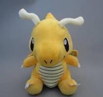 Покемон Драгонайт (Dragonite) плюшевая игрушка, 17 см
