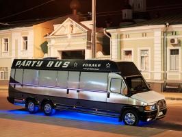 СВАДЕБНЫЙ ЛИМУЗИН АВТОБУС ЭКСКЛЮЗИВ 'PARTY BUS' от 700 грн/час в Харькове