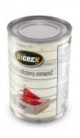 Красный жаренный перец рассоле ГРИЛЬ«RED ROASTED PEPPERS» 2,5кг