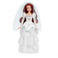 Кукла принцесса Русалочка Ариэль в свадебном платье. Невеста. Дисней. Оригинал