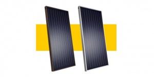 Солнечные коллекторы Heliomax Arfa ( светлый алюминий)