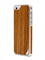 Alloy X Wood для iPhone 5, Silver