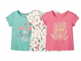 Комплект футболок для девочек Lupilu