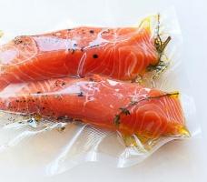 Вакуумный пакет PA/PE рифлёный пищевой