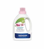Sodasan 1610 Кондиционер для белья с эфирными маслами лаванды, розы, магнолии и герани, 0,75л