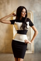 Стильное платье 1538 тер