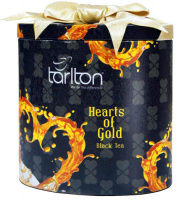 Чай черный Тарлтон ЗОЛОТОЕ СЕРДЦЕ 100 г жб бантик Tarlton HEART OF GOLD