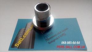 Металлический Переходник для душа на смеситель, насадка на кран водонагреватель, переходник на смеситель под шланг.