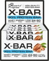 Powerful Progress, 30% Protein Bar «X-BAR» MEGA PACK - 24 psc x 50 g