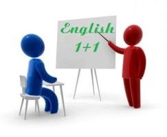 Индивидуальные занятия английским языком ONLINE!