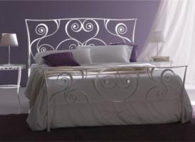Кованая кровать «Эдельвейс»