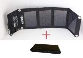 Солнечный зарядный комплект для туризма А28