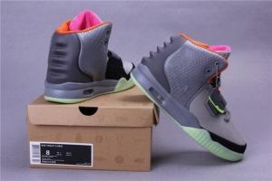 Nike Air Yeezy II мужские кроссовки серые