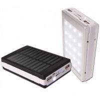 Аккумулятор внешний Power Bank Solar 15000mAh 803 (солнечная батарея) оптом