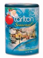 Чай зеленый Тарлтон Сияющее рождество 200 г жб с музыкой внутри Tarlton tea The Blue Christmas