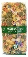 Цветные макароны с овощами форма «Margaritas» 500г