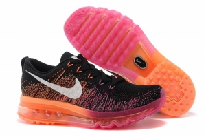 Nike Air Max Flyknit Black Orange