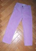 Вельветовые штаны Sugar Pink на 4-6 лет (смотрите замеры).
