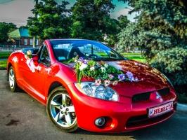 АРЕНДА КАБРИОЛЕТОВ Mitsubishi Eclipse в Харькове