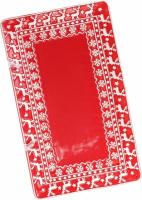Блюдо керамическое Red Ceramics «Новогоднее» 30.5х18.2х2.4см