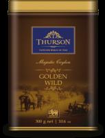 Чай черный Турсон Золотое Наследие 300 г Thurson Golden Wild (OPA) Ceylon Big Leaf Tea