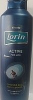 Гель для душа «Lorin active men» 1000 мл.