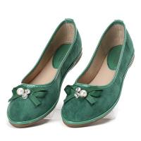 Жіночі балетки Terra зелені