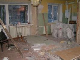 Демонтажные и подготовительные работы