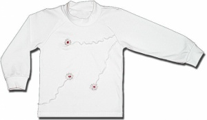 Белая блузка «Ручеёк», р. 122-128