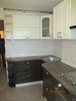 Кухня на заказ с угловой нишей