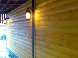 Блок-Хауз сосна ,хвоя (1 сорт) 35х135х6,0м